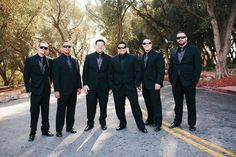 Groomsman photos at Padua Hills Theatre