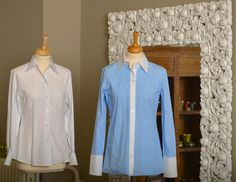 The DOLLIS blouse is easy to iron because the design of the blouse does not need tucks, but the blouse is still bodyhugging and waisted Business Wear, Business Fashion, Blouse Styles, Iron, Shirt Dress, Blazer, Jeans, How To Wear, Shirts