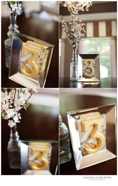 How to Table Numbers... Great Idea. Still digging the idea of a vintage barn house wedding :)