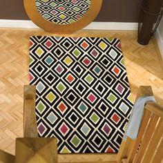 Traversa Hand-Tufted Multi-Coloured Area Rug   Wayfair UK