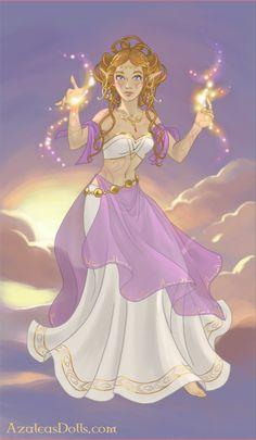 Greek Goddess Art, Greek Pantheon, Doll Divine, Dawn And Dusk, Up Game, Doll Maker, Princess Zelda, Disney Princess, Twilight