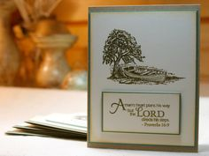 Handcrafted Encouragement Cards - Set of 4 by PureGraceInspiration on Etsy