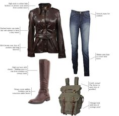 Zombie hunting outfit for fall