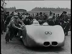 Racing The Silver Arrows Part 5. World Record on normal street 1938 by Mercedes-Benz
