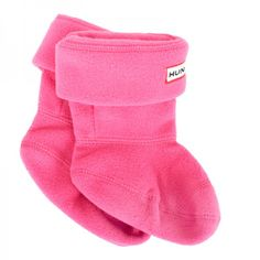 Hunter Pink 'First Wellington' Socks at alexandalexa.com