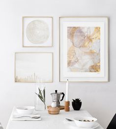 Home decor refresh. Redecorate your walls with gold art from Minted's community of artists.