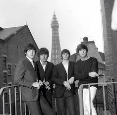 Paul, John and George all look lovely, and then there's Ringo.
