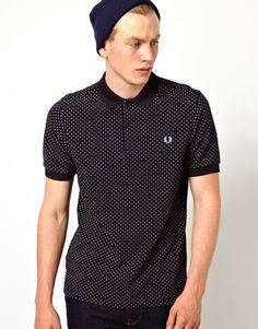Fred Perry Tipped Pindot Polo