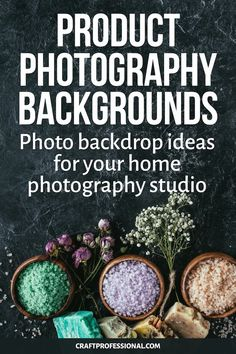 Product photography backgrounds Photo backdrop ideas for your home photography studio. Photography Backdrop Paper, Photography Backgrounds, Background For Photography, Backdrop Ideas, White Backdrop, Backdrops, Texture Photography, Product Photography, Photography Tips
