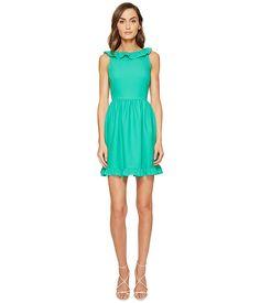 Kate Spade New York Ruffle Back Mini Dress