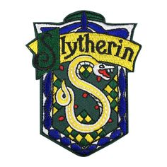 Harry Potter School Crest Iron on Patch Slytherin,gryffindor,hufflepuff,ravenclaw,hogwarts Small Badge