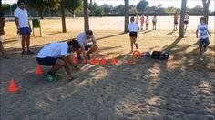 1ª prueba de las olimpiadas infantiles-salto de longitud