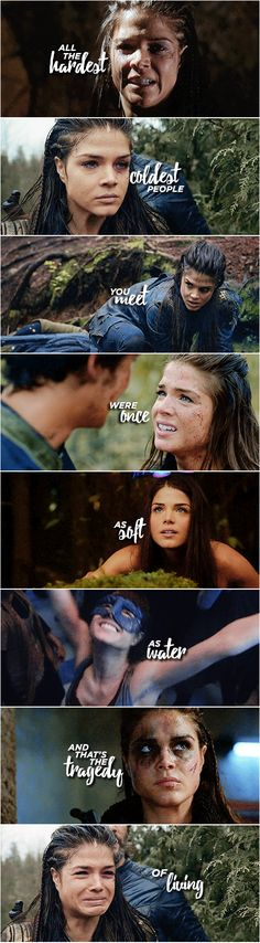 Octavia Blake || The 100 || Marie Avgeropoulos