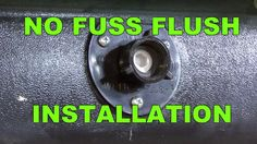 RV DIY® with Mark Polk - Demonstration of how easy it is to install a No-Fuss-Flush by Valterra Products on an RV black water holding tank. After the No-Fuss-Flush is installed flushing and rinsing the RV holding tank is a breeze: