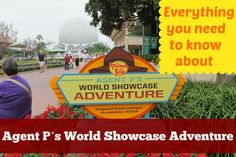 Everything You Need To Know About Agent P's World Showcase Adventure