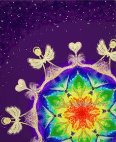Tam kde bydlí andělé II. Utajený andělský svět je běžně nedostupný našim smyslům... Ztište se a vnímejte, přijímejte, důvěřujte... Obraz působí na celý energetický systém těla. Nejsilnější je působení na oblast třetího oka a korunní čakry. Vhodný k meditaci a koncentračním cvičením, podporuje rozvoj intuice a propojení pravé a levé mozkové hemisféry. ... Tarot, Reiki, Painting & Drawing, Mandala, Drawings, 2d, Poster, Psychology, Sketches
