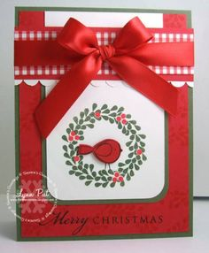 PTI November Blog Hop Merry Christmas by justbehappy - Cards and Paper Crafts at Splitcoaststampers