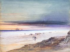 James Hamilton (American (born Ireland), 1819–1878) Beach Scene, ca. 1865. The Metropolitan Museum of Art, New York