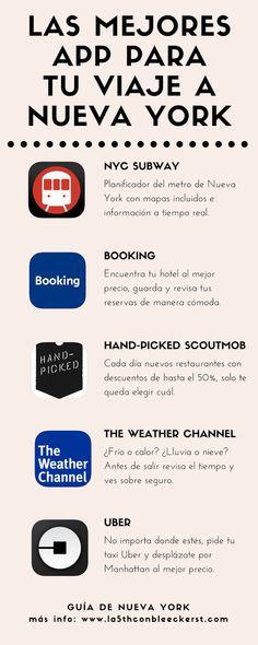 Nueva York en tu mano, ahorra dinero y tiempo con estas app móviles.  #NuevaYork #NYC #Manhattan #NuevaYorkTurismo