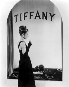 Tiffany and Co. Audrey Hepburn. Classic LBD. Breakfast at Tiffany's. Timeless Beauty.