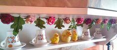 Spring flower garland 🌸