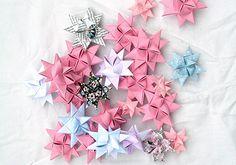 Vik+söta+pappersstjärnor+till+granen
