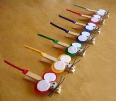 ✩✄✩ DIY Pinces Souris / DIY Mouses Pegs ✩✄✩  www.creamalice.com