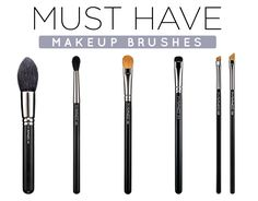 5 Must Have Makeup Brushes for Your Kit | ModaMob
