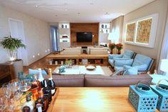 Cores e texturas têm resultado sofisticado - Casa Vogue | Apartamentos