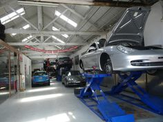Porsche serviced and repaired