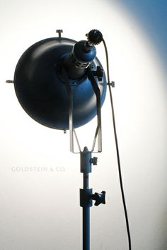 This original studio light was made by legendary Berlin lighting company Jupiterlicht, which specialized in powerful lighting for film sets and theatres.