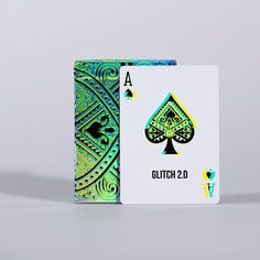 Soleil Zumbrunn is raising funds for GLITCH // Art Playing Cards on Kickstarter! Reality Bending Art Playing Cards // GLITCH Version - glitchier than ever! Printed with ♥ by LPCC Unique Playing Cards, Playing Card Design, Custom Playing Cards, Board Game Design, Artist Card, Cool Deck, Custom Decks, Card Tricks, Glitch Art