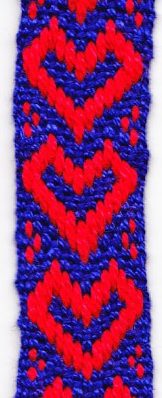 Durham Weaver: Band weaving with 13 pattern threads