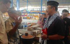 Rusda Mahmud Blusukan ke Pasar Tradisional Kasipute