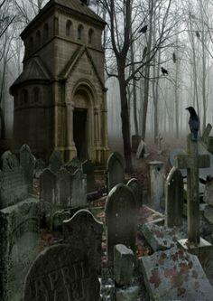 cemetery art Sleepy Hollow