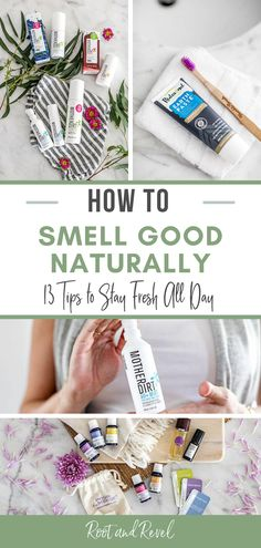 In this guide on how to smell good naturally, we reveal 13 tips to help keep you smelling fresh--even in the scorching summer heat!--and reduce (or even eliminate!) body odors, all while steering clear of toxins and other harmful ingredients. Cleaning Recipes, Diy Cleaning Products, Diy Natural Beauty Recipes, Body Odor, Homemade Skin Care, Summer Heat, Smell Good, Clean Beauty, Body Care