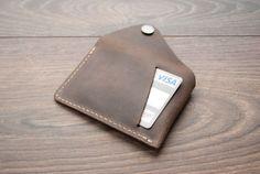 Minimalistischen Brieftasche beste Leder Geldbörse Slim