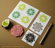 islamic art geometric arabic stamp carving block - ختم نقوش اسلامية Stamp Carving, Islamic Architecture, Stencil Designs, My Stamp, Islamic Art, Stencils, Stenciling, Sketches