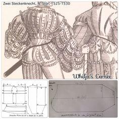 How to make a slashed sleeve for Landsknecht @whilja