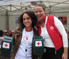 Collecteren voor het Rode Kruis