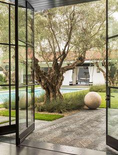 Outdoor Rooms, Outdoor Gardens, Outdoor Living, Indoor Outdoor, Backyard Patio, Backyard Landscaping, Modern Landscaping, Exterior Design, Interior And Exterior