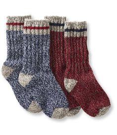 "Adults' Merino Wool Ragg Socks, 10"" 2-Pack: Men's | Free Shipping at L.L.Bean"