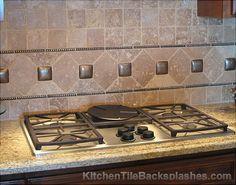 Kitchen Tile Backsplashes #9   Kitchen Tile Backsplashes with Granite Countertops