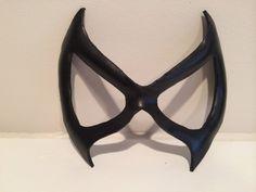 Superhero Leather Mask  Black Cat Marvel by Bollingshire on Etsy