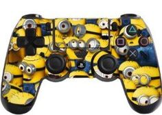 Despicable Me Minions Playstation 4 (PS4) Controller Sticker / Skin / Decal / PS2 #playstation #controllers #gaming