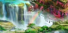 Cảnh vật trong game Hầu Vương