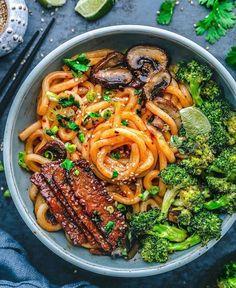Vegan Dinner Recipes, Delicious Vegan Recipes, Vegan Dinners, Vegetarian Recipes, Healthy Recipes, Vegan Bowl Recipes, Free Recipes, Sandwiches Gourmets, Plant Based Recipes