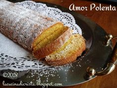 "Amorpolenta ( Amor polenta ) o ""Dolce di Varese"" - Cornflour plumcake Polenta, French Toast, Breakfast, Love, Morning Coffee, Morning Breakfast"