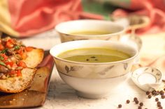 Its winters and time to indulge in a soup based diet. Make this light and healthy spinach soup for dinner along with your main course. #WinterSoupRecipes Recipe Link --> http://ift.tt/2fCpYKH #Vegetarian #Recipes