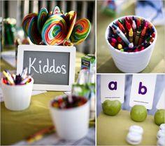 kid friendly table
